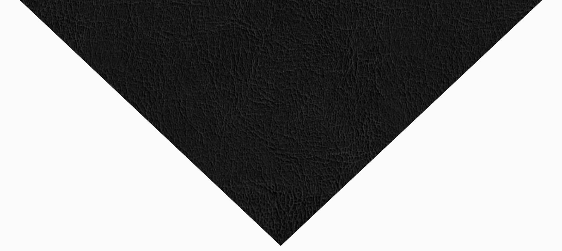 Aspect cuir noir saphir