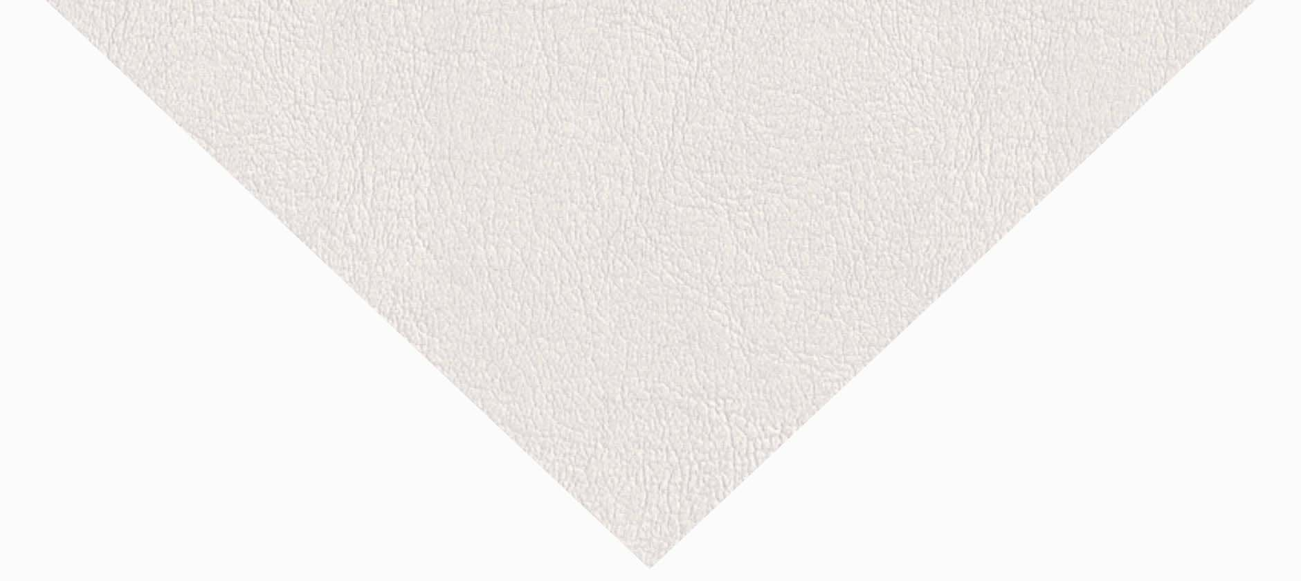 Aspect cuir blanc