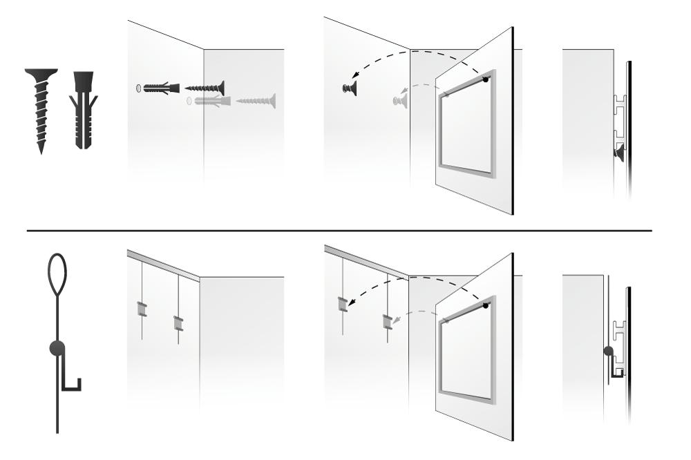 syt mes d 39 accrochage. Black Bedroom Furniture Sets. Home Design Ideas